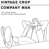 VINTAGE CROP Company Man Mini